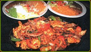 grilled cazuelada, grilled ncazuelada plate