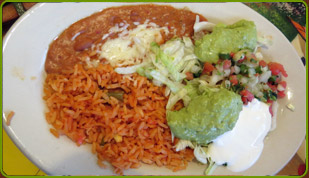 img_unknown2, rice, beans, pico and guac plate