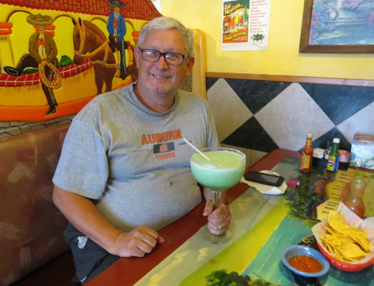 margaritas, man with a margarita